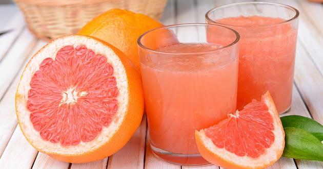 jus grapefruit untuk Menurunkan Berat Badan
