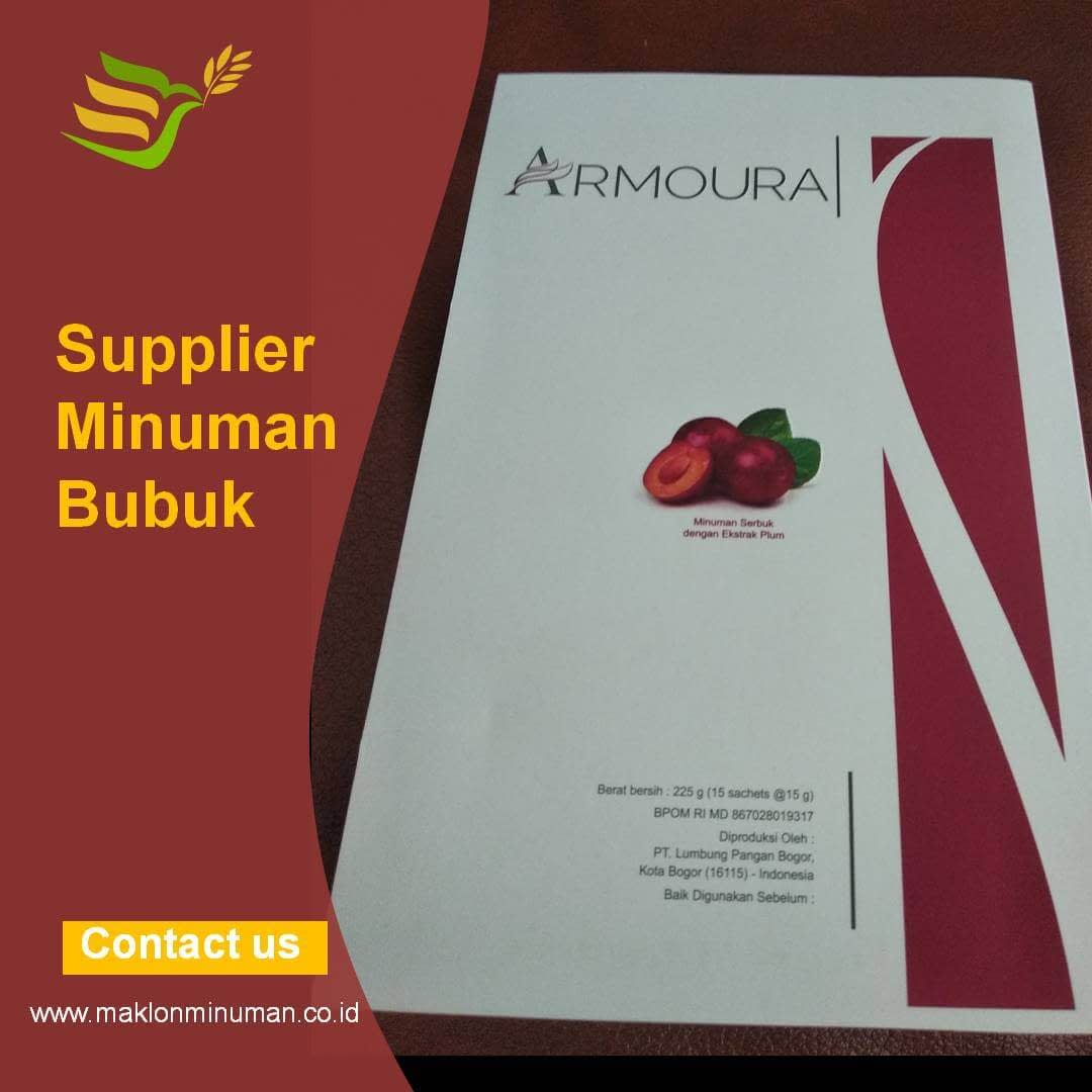 supplier bubuk minuman premium Bogor terbaik