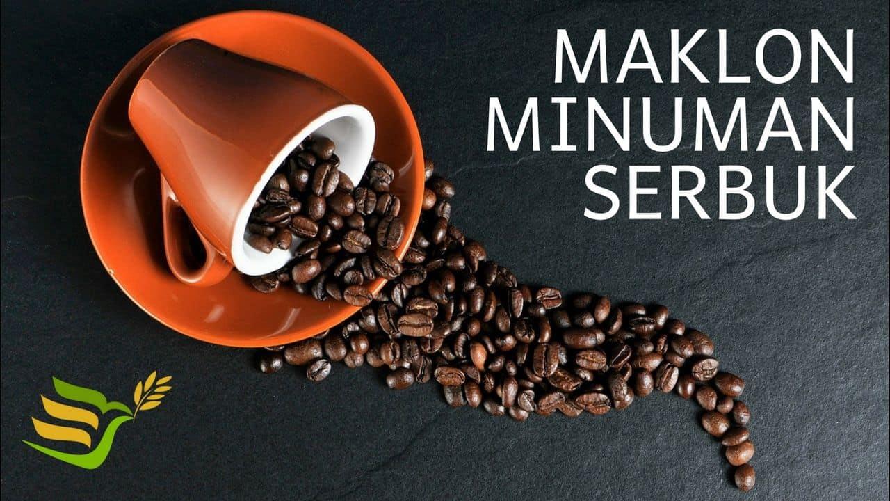 maklon minuman serbuk kopi & supplier bubuk minuman
